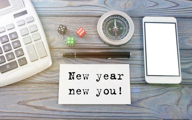Nieuw jaar, nieuwe start. Meer balans in 2020  Shutterstock door gerasimov_foto_174