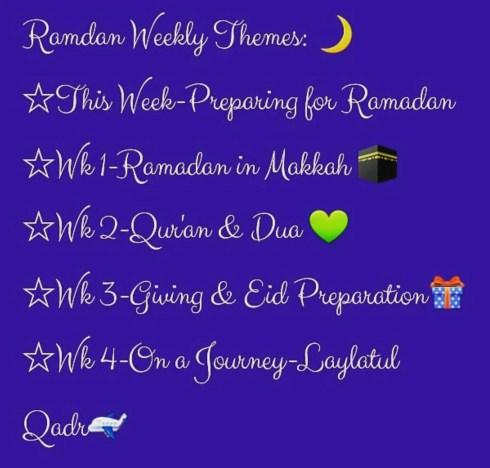 Ramadan plans home ed