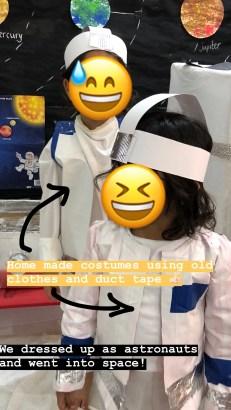 diy astronaut costumes