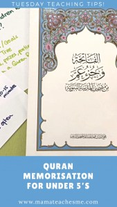 teaching quran to children at home