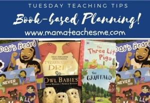 book based planning, mamteachesm