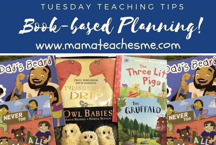 book based planning, mamteachesm