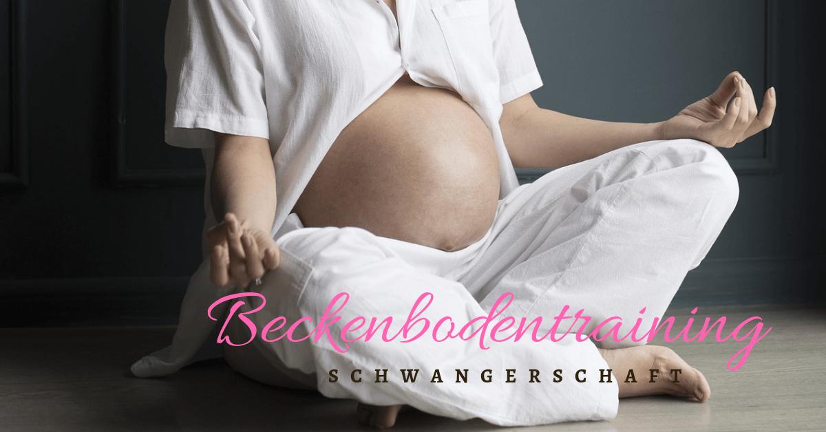 Beckenbodentraining in der Schwangerschaft - Mamatime Blog Norderstedt