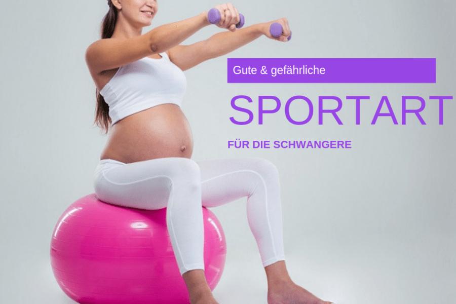 Sportarten für Schwangere - Mamatime Blog