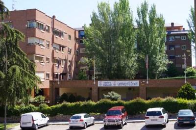 Fachada de la Escuela Infantil Mamatina de Aravaca