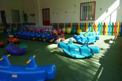 Patio interior de la Escuela Infantil Mamatina de Aravaca (2)