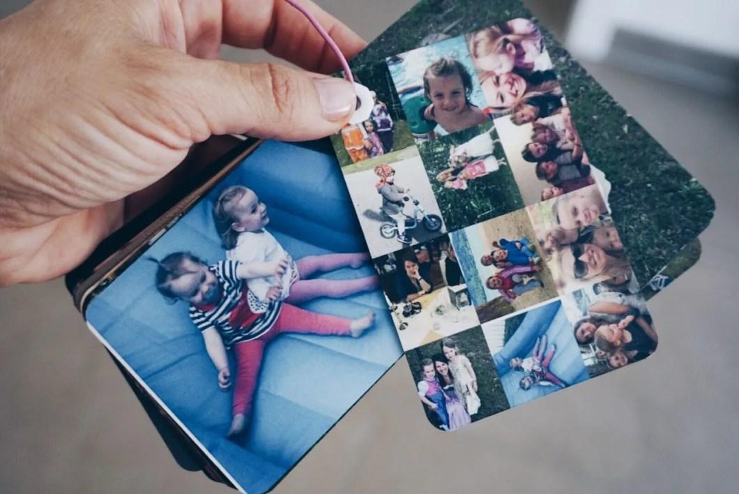 Fingerbook besondere Fotoalbum MamaWahnsinnHochDrei