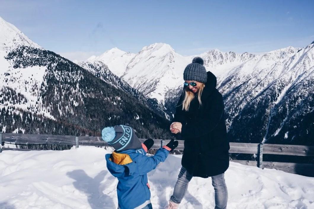 Skiwochenende in den Dolomiten MamaWahnsinnHochDrei
