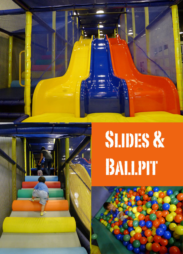 slide and ballpit