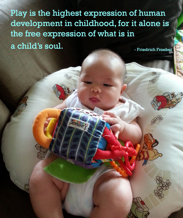 a quote about children's play