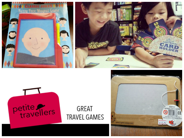 Petite Travellers - 10 great travel games