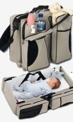Delta Baby Travel Bag and Carrycot