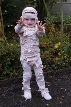 Mummy halloween kostuum