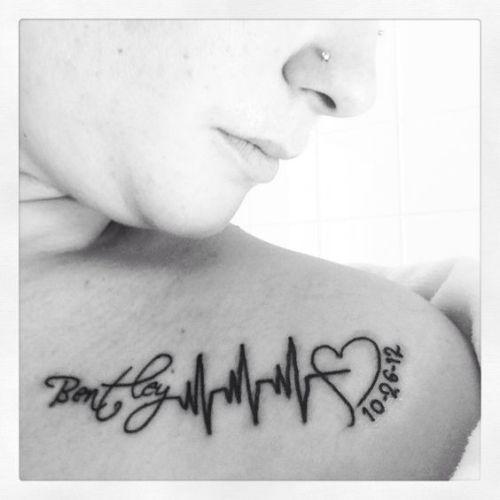 moeder kind tattoe