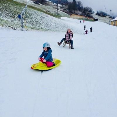 #WIB: Berge, Beagles, Schneevergnügen