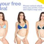 GRATIS: Corpiño de bikini (disponible sólo para Miami)