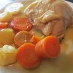 Pollo a la Cerveza -Receta-