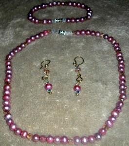 Perlas Rosadas Cultivadas