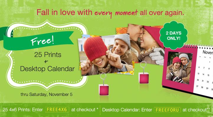 Gratis: 25 fotos impresas en Walgreens y un calendario - Mama XXI