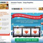 Juega Regalitos en Facebook con Univision Tarjeta y gana premios