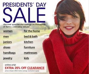 presidents day offers sale