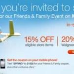 Cupón de Walgreens 20% válido 03/30/2012
