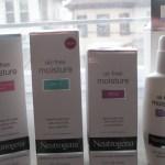 Línea Neutrogena Oil-Free Facial Moisture, reseña y sorteo valorado en $40