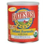 Muestra gratis de fórmula orgánica para bebés Earth Best