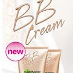 Gratis muestra de crema BB Cream de Garnier
