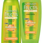 Gratis muestra de shampoo y acondicionador Garnier Fructis Sleek and Shine