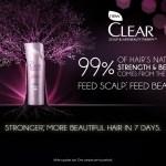 Gratis muestra de shampoo y acondicionador Clear Scalp & Hair