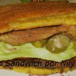 Jibarito sandwich -Receta-