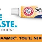 Gratis muestra de pasta de dientes Arm and Hammer