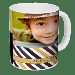 GRATIS taza 11 0z de cerámica personalizada con Ink Garden