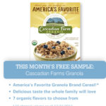 Gratis caja de Cascadian Farm Granola (con cupón)