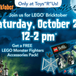 Gratis evento de LEGO en el Toys 'R Us el Sábado 10/27