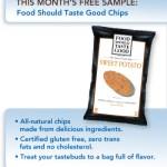 Muestra Gratis de Food Should Taste Good Chips de Pillsbury