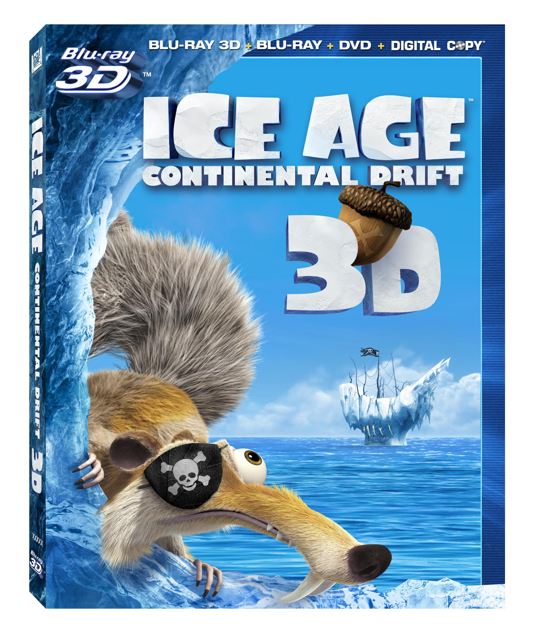 La Era de Hielo 4: La deriva continental en DVD y Blu-Ray para ...