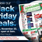 Ofertas de Viernes Negro (Black Friday) en Staples 2012