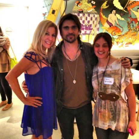 con Juanes y Lyn Ponder