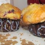 Muffins de arándanos y lino {Receta y Sorteo tarjeta de Walmart} #SoyParaSoy