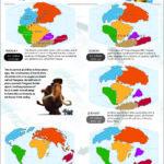 Hojas educacionales para imprimir gratis de la Era de Hielo 4