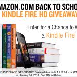 Amazon sortea diariamente una Kindle Fire y 500 premios más