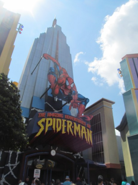 spiderman universal