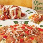 2 Cupones de Olive Garden para el menú de bajas calorías