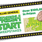 Sorteos diarios en Dollar General (10 ganadores por día y más de $70 mil en premios)