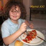 Canelones de Carne y Espinaca con Salsa Roja #MamáSabeMás