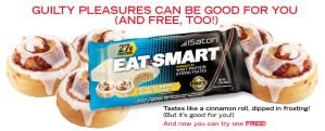 GRATIS barra de proteína Eat-Smart