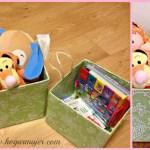 DIY: Contenedores con cajas de cartón