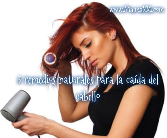 3 remedios naturales para la caida del cabello